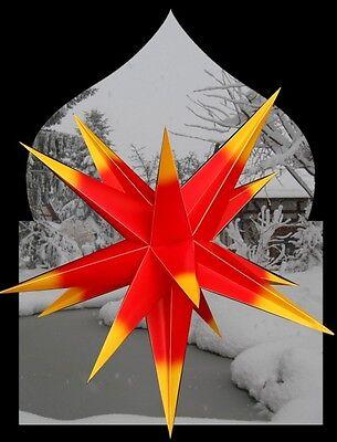 100 cm 3D Faltstern Außenstern außen Stern Weihnachtsstern Adventsstern 1622 PA