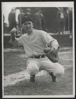 1932 Orig 1St Gen Press Photo   Arndt Jorgens  Yankees