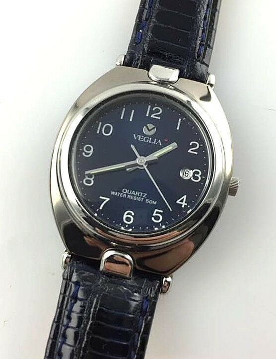 OROLOGIO VEGLIA TITANIO DONNA 1137 WATCH VINTAGE NEW OLD STOCK SWISS MADE QUARTZ