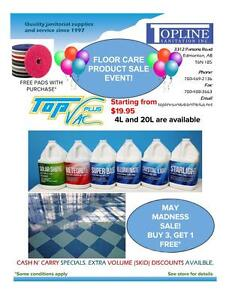 MAY MADNESS SALE FLOOR CARE PRODUCTS! BUY 3, GET 1 FREE!