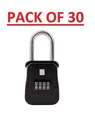 Pack Of 30 Lockbox Key Lock Box For Realtor Real Estate 4 Digit