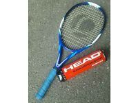 Tennis Racket incl. 4 Head tennis balls