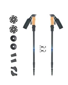 Trekking Poles - Walking Sticks - Collapsible Walking Sticks For Women Men Trekking Poles