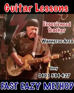Guitar Lessons by Tony