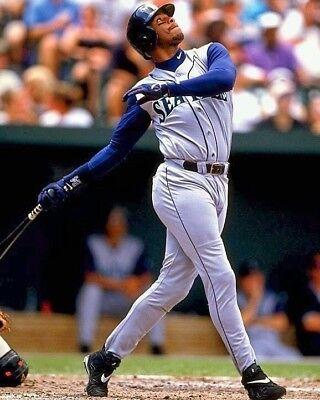 Seattle Mariners Baseball (KEN GRIFFEY JR 8X10 PHOTO SEATTLE MARINERS BASEBALL PICTURE)