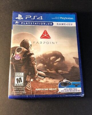 Farpoint   Ps Vr Game     Ps4  New
