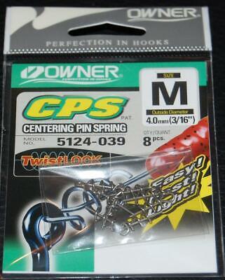 OWNER CENTERING PIN SPRING CPS Twistlock 5124-039 Medium 8 pack 3/16