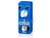Xvive chorus vibrato guitar pedal stombox boss