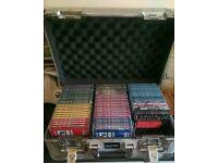 71 DJ No.1 Collection CD albums & flight case