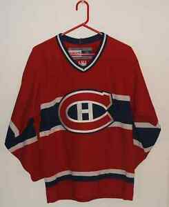 Chandail De Hockey CCM Canadiens Montreal Neuf Habs Jersey New