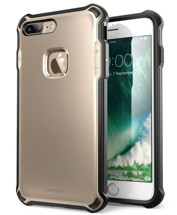 NEW i-Blason Venom Phone Case iPhone 7 Plus Gold Dual Layer