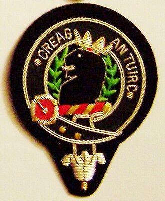 Royal Scottish Scotland Clan MacLaren Mac Heraldry Crest Family Name COA Patch M