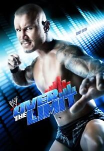 WWE -  Over The Limit 2012 (DVD, 2012) - Region 4