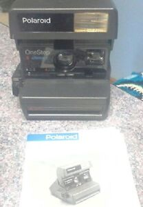 Vintage Polaroid OneStep 600 Instant Close Up Camera Kitchener / Waterloo Kitchener Area image 2