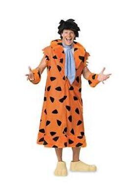 Herren Erwachsene Feuersteins Deluxe Fred Flintsone Kostüm
