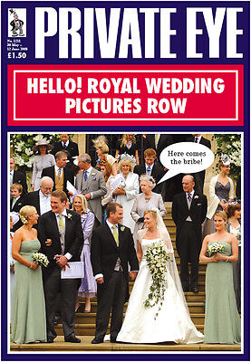 PRIVATE EYE 1211 - 30 May - 12 Jun 2008 - The Windsors - HELLO! ROYAL WEDDING