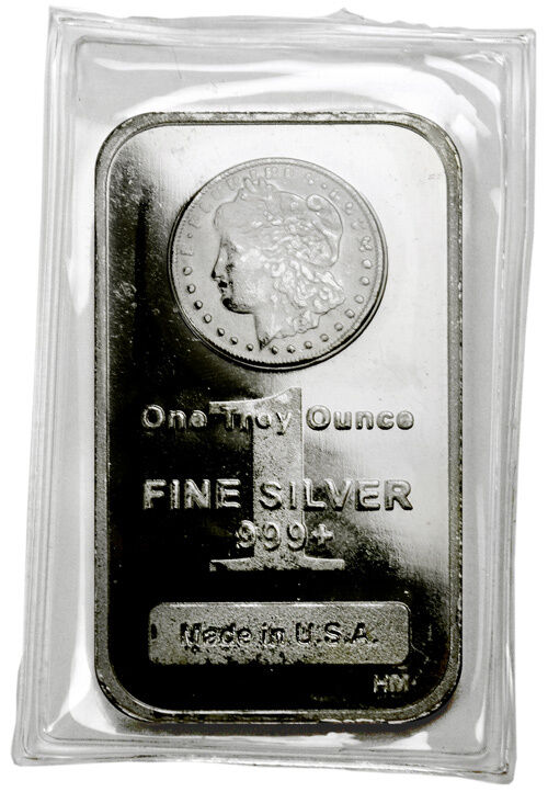Lot Of 20 1 Troy Oz 999 Fine Silver Bar Morgan Dollar