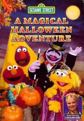 SESAME STREET - A MAGICAL HALLOWEEN ADVENTURE NEW DVD (A Magical Halloween Adventure Dvd)