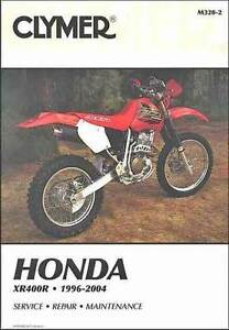 Honda XR400R 1996 - 2004 Clymer Owners Service & Repair Manual Blacktown Blacktown Area Preview