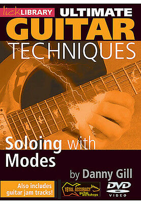 Lick Library Ultimate Guitar Techniques   Soloing With Modes Video Lessons Dvd
