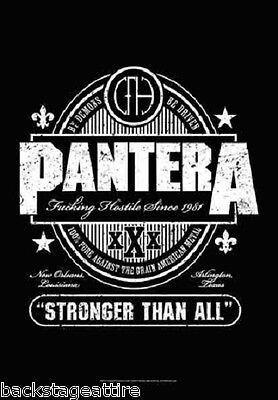 Pantera Beer/Whiskey Label CFH 30x42 Cloth Fabric Poster Flag Wall Banner-New!!