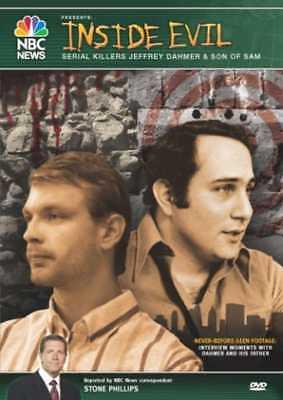 NBC News: Inside Evil: Serial Killers Jeffrey Dahmer & Son of Sam NEW DVD](Movies Of Serial Killers)