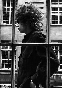 BOB DYLAN POSTER FENSTER LONDON MAY 1966