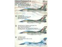 F-16 Fighting Falcon - Twenthe 1//72 Niederlande 315 Sqd es72078// Decals