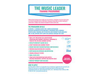 Become A Music Teacher In 24 Weeks - Music Leader Training Programme