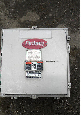 Hoffman 20 X 20 X 6 Stainless Steel Industrial Control Panel Enclosure