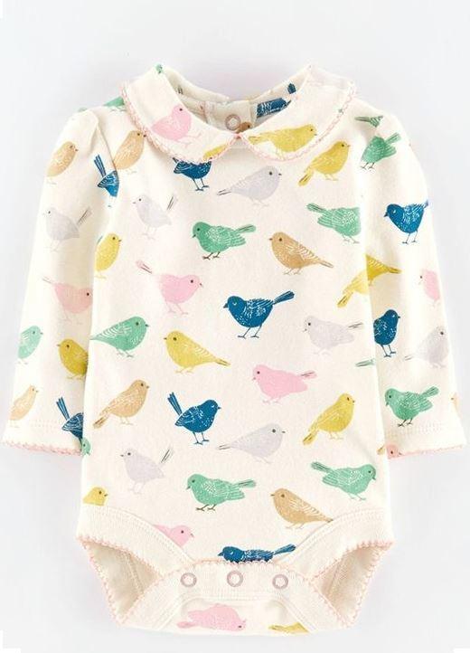 Mini Boden bambino morbido stampa cotone corpo body bebè nuovo ragazze gilet
