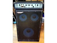 Ashdown ABM300 EVO2 Bass head with ABM1510 cabinet