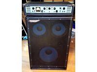 Ashdown ABM300 EVO2 Bass head with ABM1510 cabinet