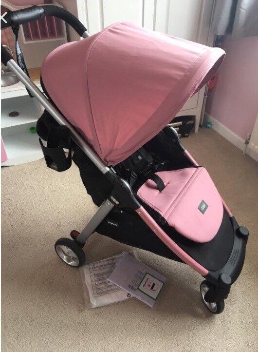 Pink pushchair armadillo