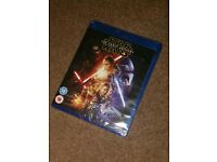Star Wars The Force Awakens Blu Ray 2 disc brand new sealed
