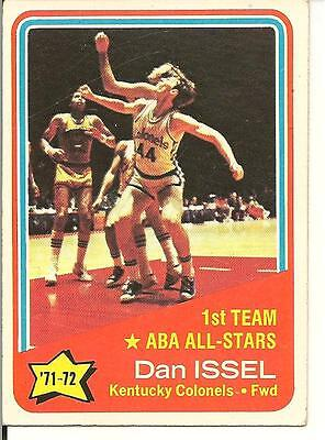 Used, Dan Issel ABA AS 1972-73 Topps Kentucky Colonels Denver  for sale  Richmond