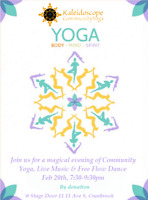Free Yoga Class and free flow dance by donation