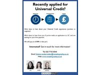 Tell us about your Universal Credit experience!