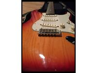 Fender American Deluxe Strat 2002 with hardcase and all documents