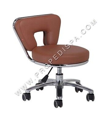High Quality Spa Chair Pedicure / Manicure Nail Technician Facial / Tattoo Stool