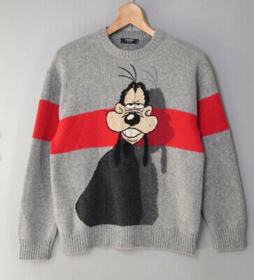 Vintage Iceberg History Sweater Disney Goofy Medium