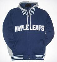 TORONTO MAPLE LEAFS REVERSABLE JACKET, HOODIE, NEW WITH TAGS