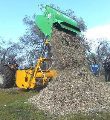 Biomass Mulcherpruning Shredderflail Collection Mower Peruzzo Cobra 1600 60