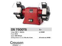 DS 7500TS Creusen Powerline Double low speed Grinder & Table