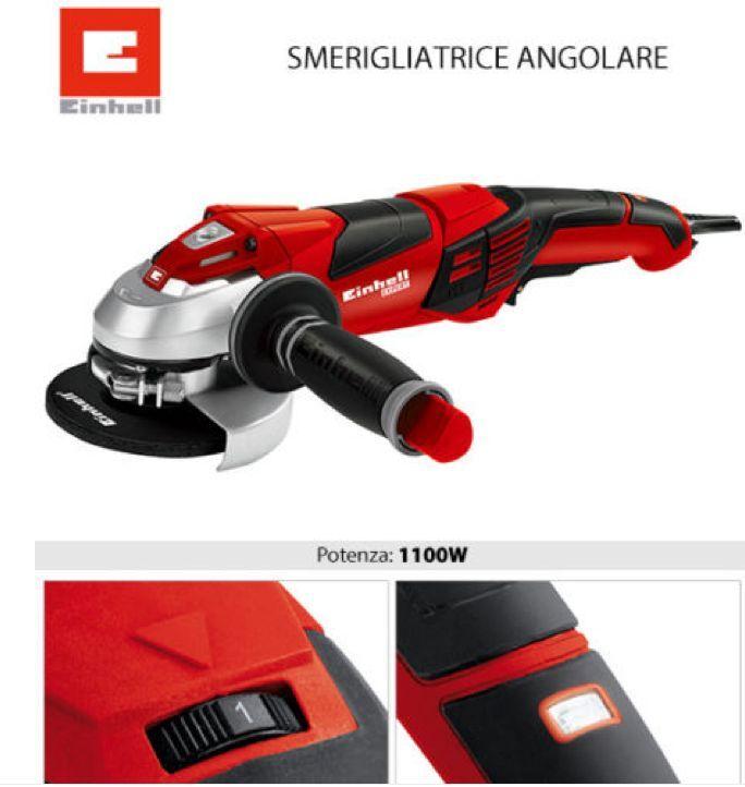 SMERIGLIATRICE TE-AG 125 CE ANGOLARE ELETTRICA EINHELL 1010W FLEX 125MM