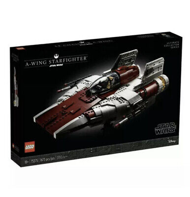 LEGO A-Wing Starfighter UCS Star Wars 75275 Brand New Set! Sealed! Exclusive!