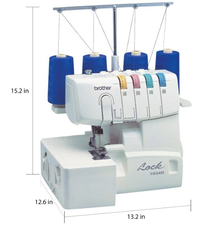 homelock 1034d serger coverlock machine 3 4