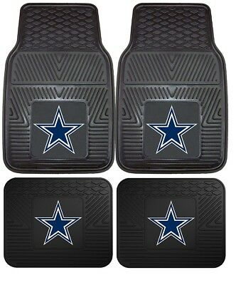 Dallas Cowboys Heavy Duty Vinyl Car, Truck, SUV Auto Floor Mats