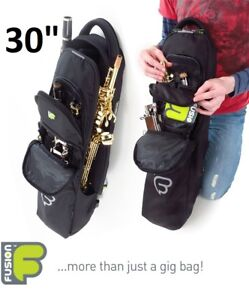 NEW FUSION BAGS SOPRANO SAX/CLARINET/FLUTE BAG - BLACK