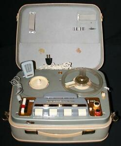 Antique / Vintage Korting MT 156 Reel to Reel with Microphone